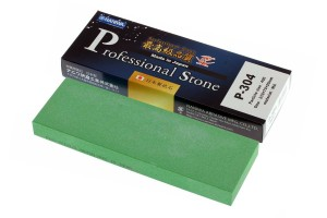 NANIWA P-304 - Professional ceramic whetstone #400, 210x70x20 mm, Japan