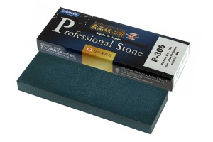 NANIWA P-306 - Professional ceramic whetstone #600, 210x70x20 mm, Japan