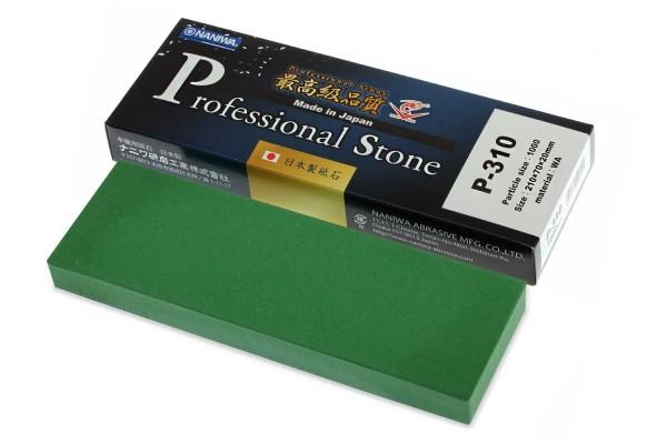 NANIWA P-310 - Professional ceramic whetstone #1000, 210x70x20 mm, Japan