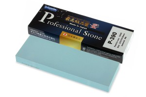 NANIWA P-390 - Professional ceramic whetstone #10 000, 210x70x20 mm, Japan