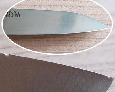 Repair of santoku knife Kanetsugu PRO-M 7003