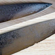 Repair and sharpening of the Chef's knife SAIUN 9006 Damascus Chef's knife 230 mm