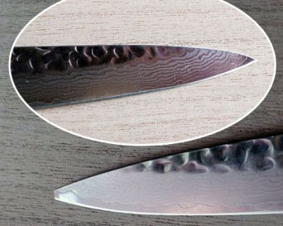 Repair the Sujihiki knife by Yaxell Damascus