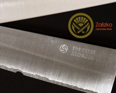 Damage repair and sharpening of the Chef's knife Takamura Migaki R2 Gyuto 210 mm