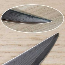 Repair and sharpening of meat knives Tojiro Senkou Damascus and Chicken boning Tojiro DP F-803