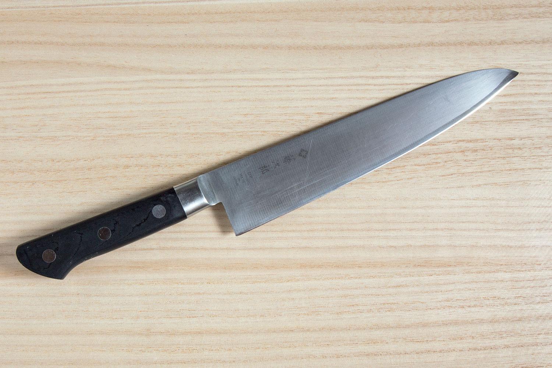 Repair tip and re-sharpening Tojiro DP Chef's Knife 210 mm photo 1